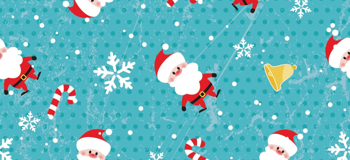 14266709 - seamless christmas pattern on grunge background